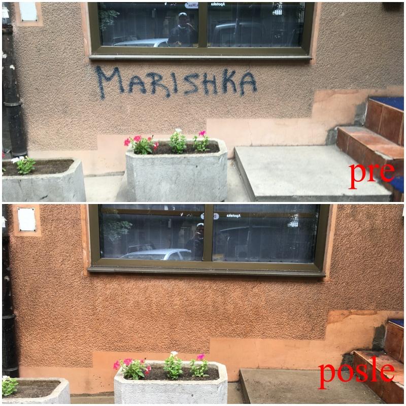 Čišćenje grafita